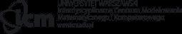 Logo i napis ICM UW - przeniesienie do strony głównej serwisu